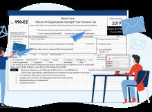 IRS Form 990-EZ Mailing Address