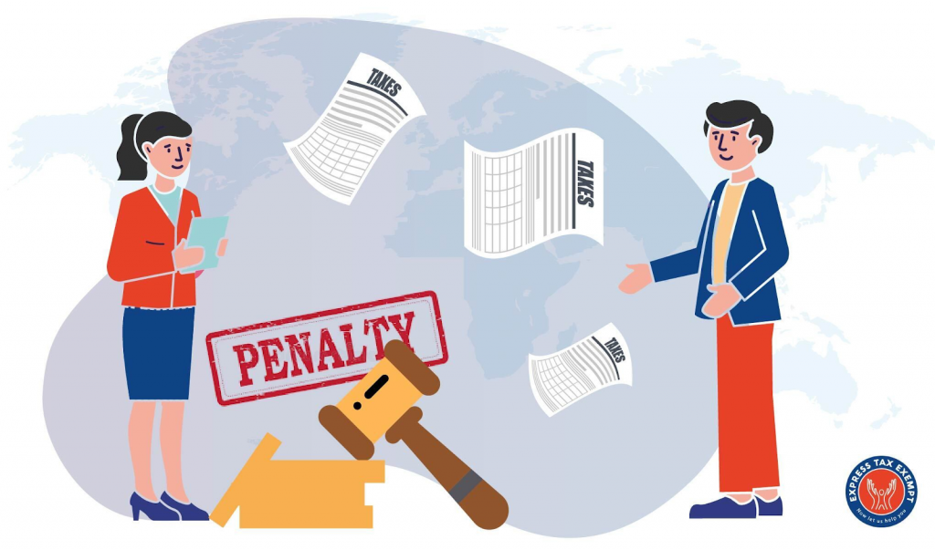 Form 990-EZ penalties