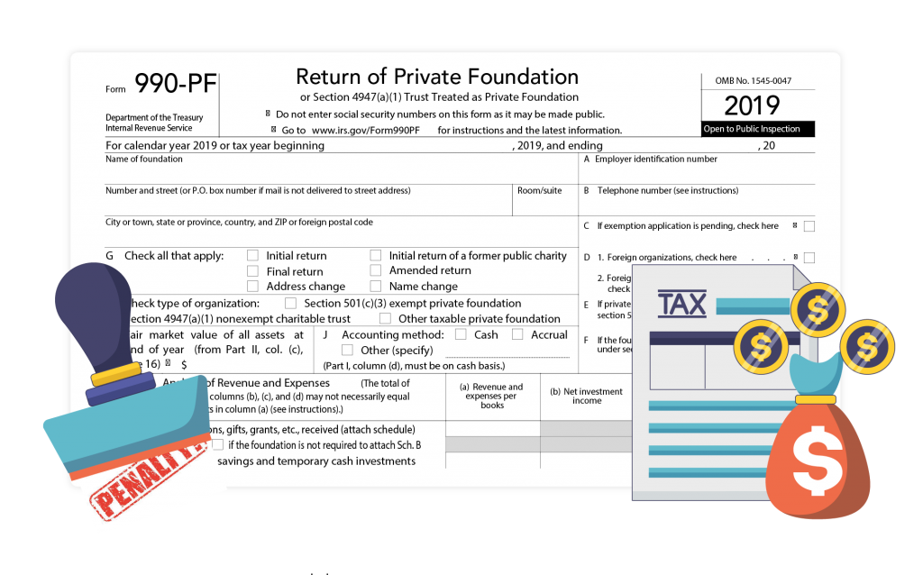 Form 990-PF Penalties