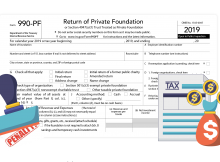 Form 990-PF late filing penalties