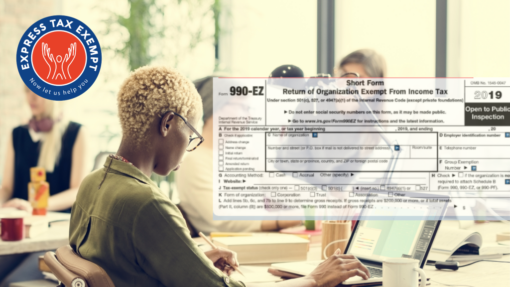 E-file Form 990-EZ